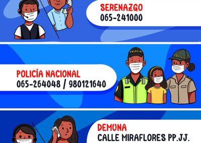 Números en caso de emergencia – Belén