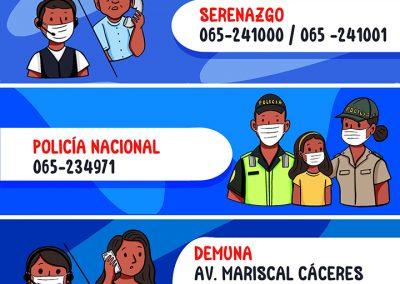 Números en caso de emergencia – Iquitos