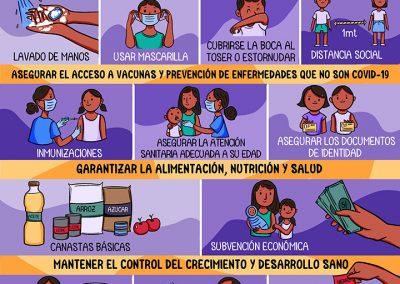 Recomendaciones para el cuidado de la salud de los niños y niñas menores de 5 años durante la pandemia del Covid-19